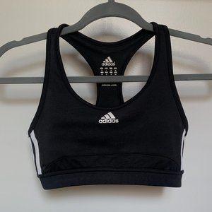 Adidas Classic Black Sports Bra
